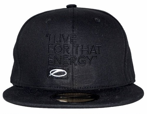 I LIVE FOR THAT ENERGY - ASOT 800 キャップ(ブラックロゴ)