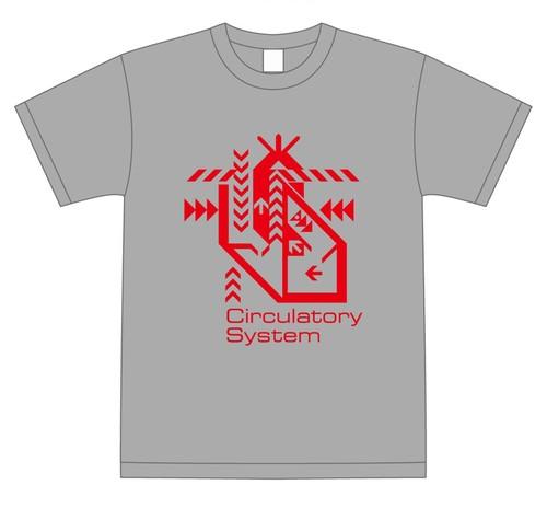 心臓デザイン-Tシャツ