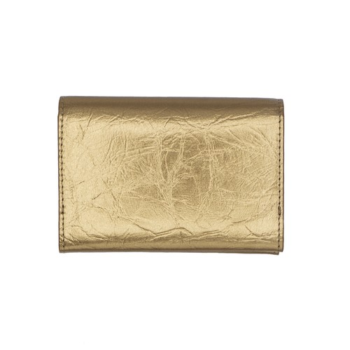 TIN BREATH Business card case double  Antique gold