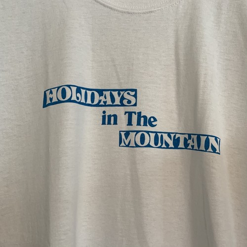 HOLIDAY tee :mountain research