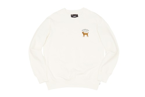 WHIMSY / HOT SPOT CREWNECK -WHITE-