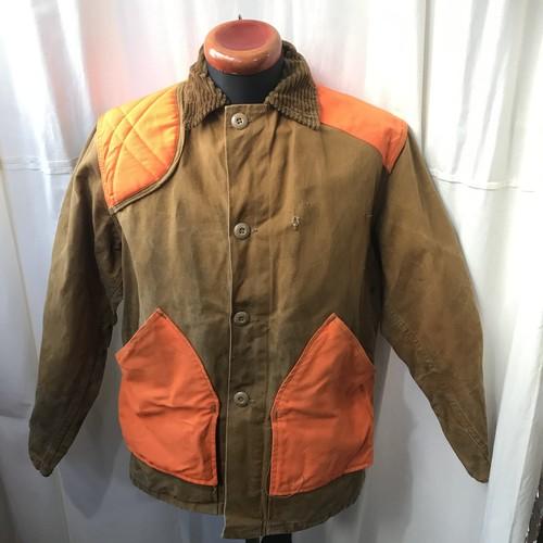 60's vintage ダック地ハンティングジャケット  メンズL程度