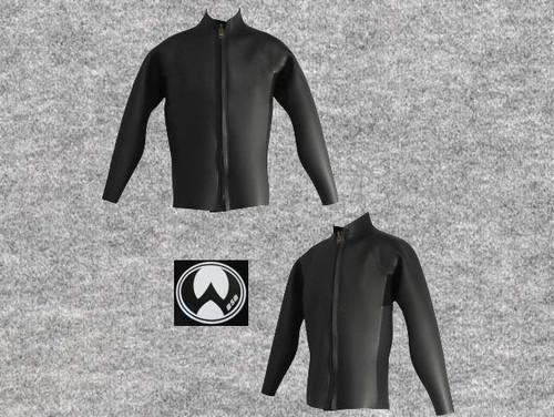 スーパーネッスルスキン 3X3mm長袖ジャケット立衿wsm1710SSN33(フルオーダー料込)