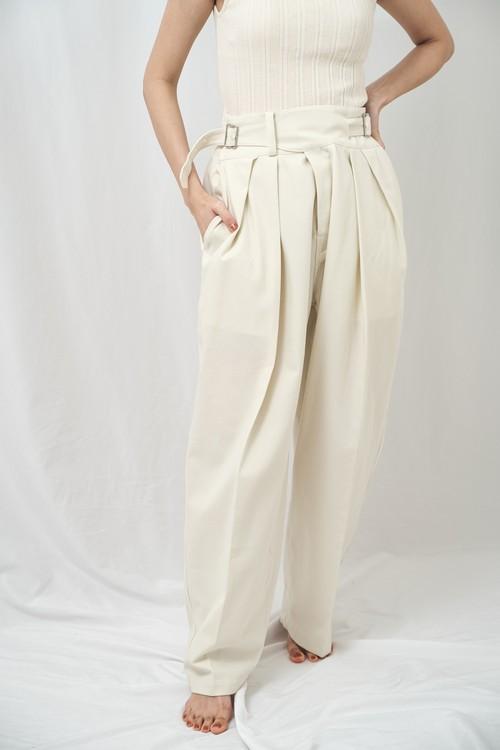 曖昧なズボン fuzzy Gurkha pants 強撚ツイル