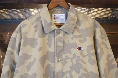 Champion canvas cotton camouflage coach Jacket