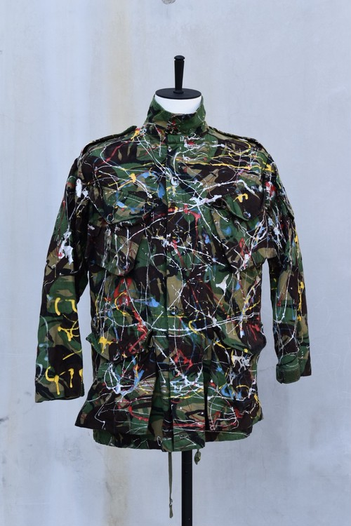 <SOLD OUT>James Smith & Co - Vintage British Army Smock Combat DPM 1985 Pattern