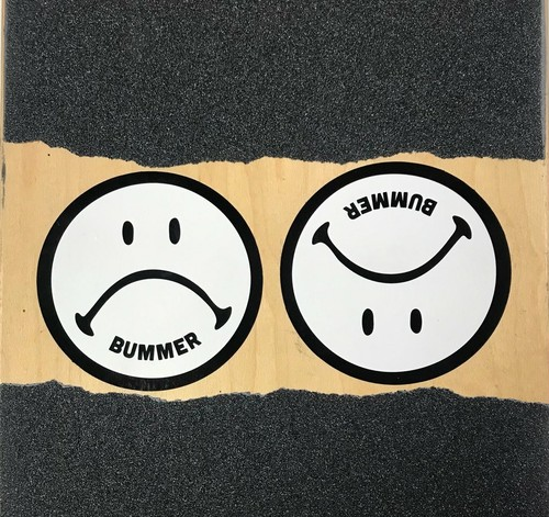 Bummer California - SAD FACE STICKER