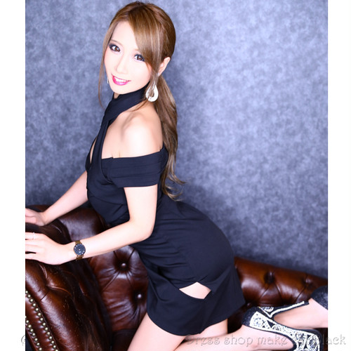 make cat original catalog (Sサイズ) 3色展開 ミニドレス キャバドレス パーティー ドレス GMS-V360