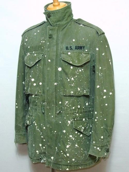1960's U.S.ARMY M-51 フィールドジャケット ペンキ 表記(REGULAR SMALL) アメリカ軍