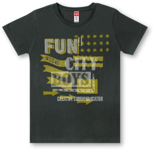 #388 Tシャツ FUN/BLK