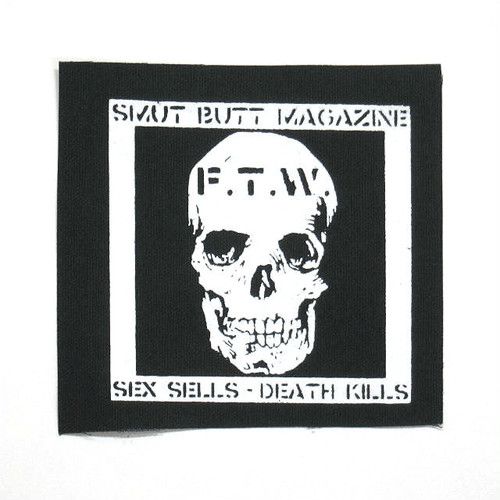 """SMUT BUTT SSDK 4""""x4"""" PATCH by Gorgeous George"""