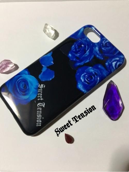 オリジナル iPhone7/8 ケース  ブルーローズ