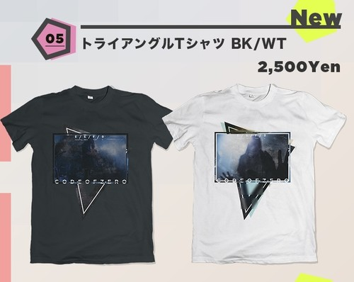 【MMRツアーグッズ】トライアングルTシャツ