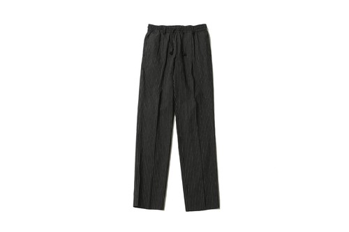 jiNBEi STRiPE PANTS (BLACK-STRIPE) / SUNDINISTA EXPERIENNCE