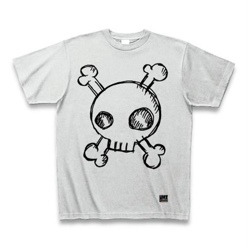 手描きどくろ Tシャツ