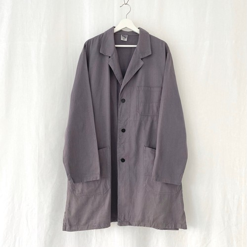 GERMANY vintage cotton twill work coat-DEAD STOCK-
