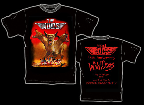 THE RODS 初来日記念限定Tシャツ