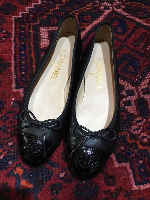 .CHANEL COCO MARC RIBON LEATHER PUMPS MADE IN ITALY/シャネルココマークレザーパンプス 2000000036632