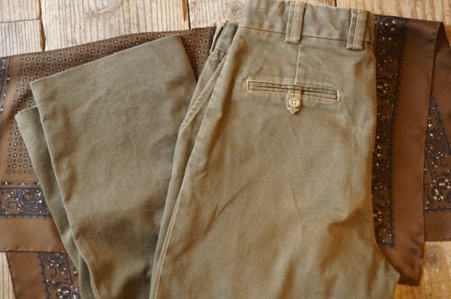 "00's BILLS KHAKIS cotton twill Pants ""Made in U.S.A."""
