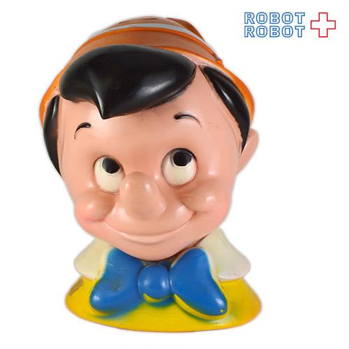 プレイパル ピノキオ ヘッドソフビ貯金箱