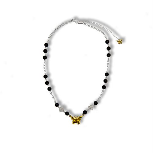 STUGAZI Black Angel Necklace SILVER