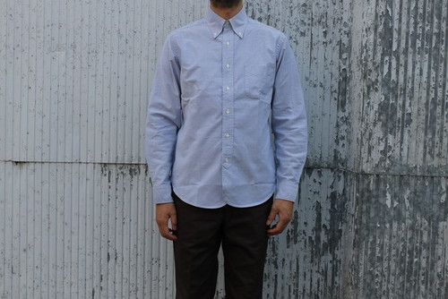 WORKERS / Lot 20, Modified BD, Blue Supima Oxford