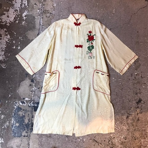 China embroidery gown
