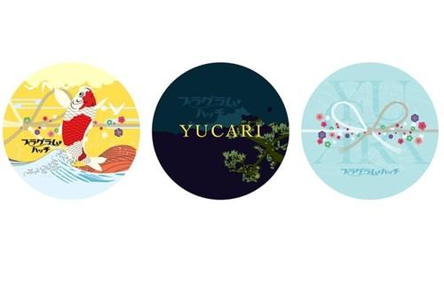 YUCARI 缶バッジ (3個セット)