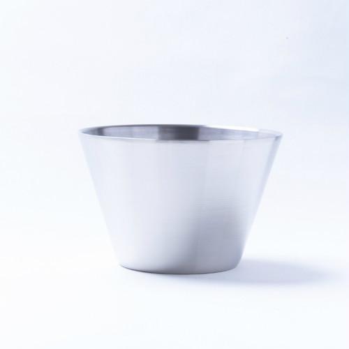 韓国ステンレス食器(1号)【直径12㎝/高さ8㎝】Western  Style