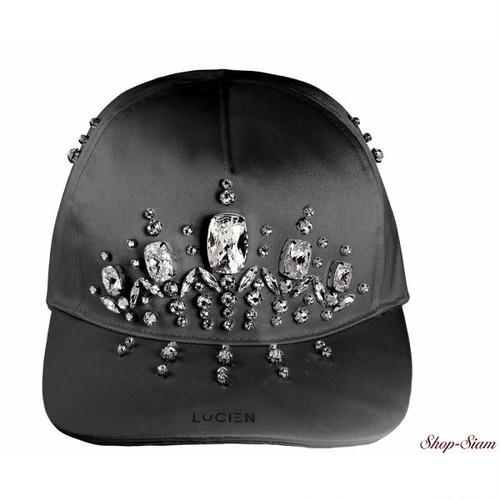 ミス ルシアン サテンキャップ・帽子/Miss Lucien Satin Cap <Armor×White>