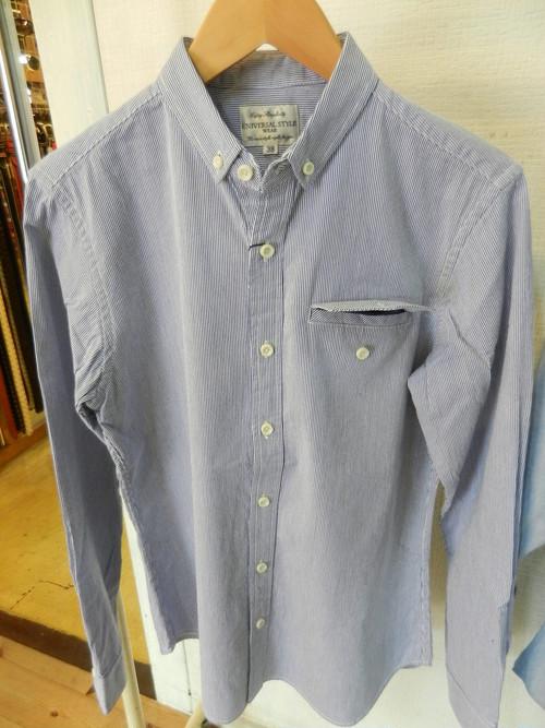 U.S.W. ポケットチーフシャツ