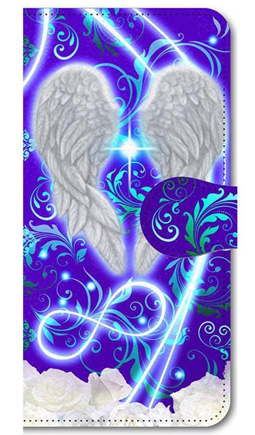 【iPhone5/5s/SE】 Angel Wings エンジェル・ウィングズ 手帳型スマホケース