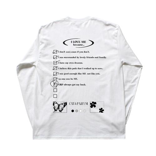 【Cat & Parfum】I LOVE ME Long Sleeve