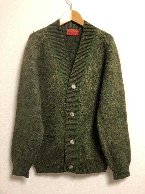 80's mohair knit cardigan