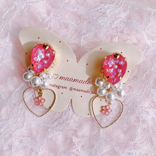 Strawberry【Earrings】