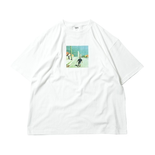 TIGHTBOOTH GO TO HEVEN WHITE タイトブース Tシャツ