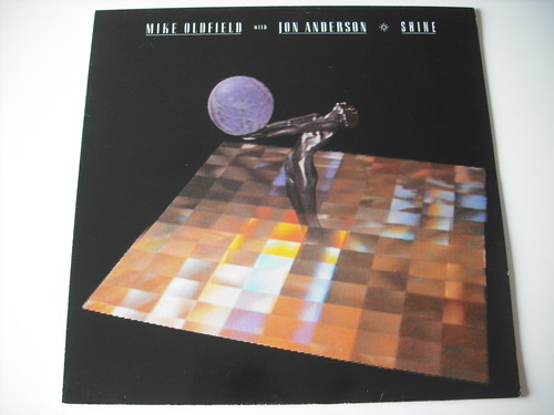 "【12""】MIKE OLDFIELD with JON ANDERSON (YES) / SHINE"