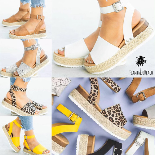 【FlamingoBeach】strap sandals サンダル