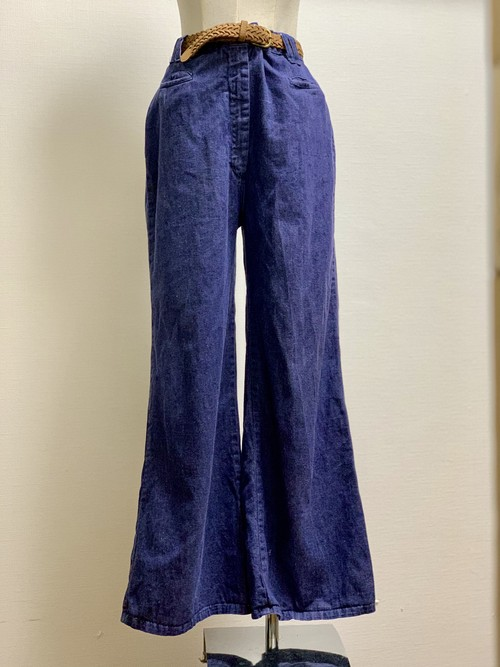 Vintage Wide Leg Denim Pants ②