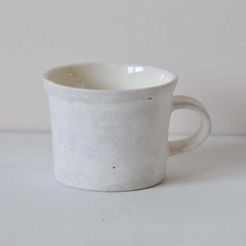 鈴木史子 コーヒーカップ 白(015)