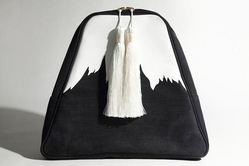 Mt.FUJI big clutch bag 岡山産デニム使用!富士山ビッグクラッチバッグ デニムバッグ