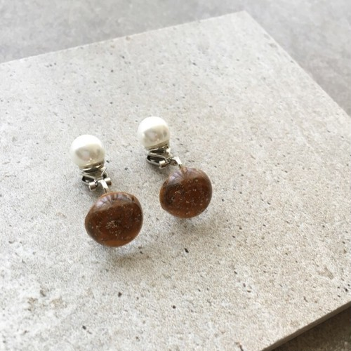 vintage modern earring