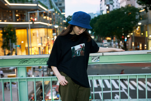 Suppage MARKS × SAEKA SHIMADA Collaboration T-shirt