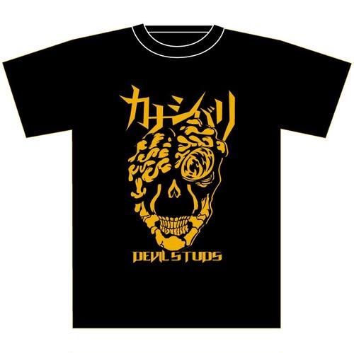 Tシャツ(デビルスタッズ・黒)
