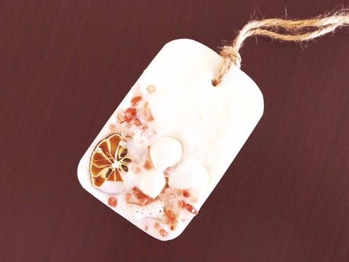 アロマワックスバー(salt&shell)