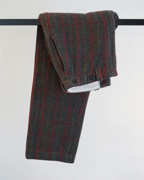 Vintage - Wool Poison Check Pants