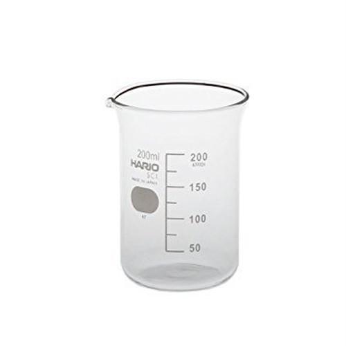 ガラス製ビーカー(200ml)