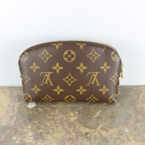 .LOUIS VUITTON M47515 CA0073 MONOGRAM PATTERNED PORCH MADE IN SPAIN/ルイヴィトンモノグラム柄ポシェットコスメティック(ポーチ) 2000000038827