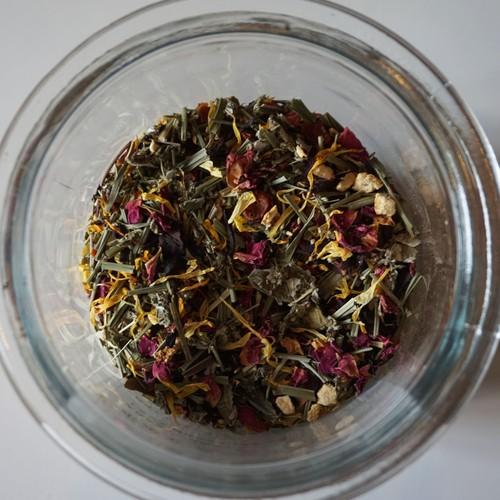 [ホルモンバランス] 有機薬草茶 (茶葉量り売り40gまでの注文専用:10g単位)
