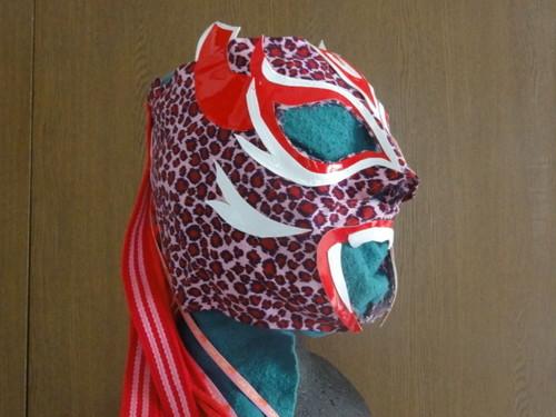 マラソン用マスク 覆面 pink-j